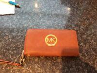 Michael kors purse ... tan leather ...