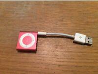 I pod shuffle pink no box