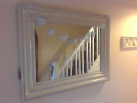 Ex Abode Large Cream Mirror