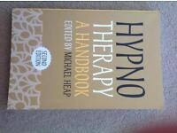Hypnotherapy hand book