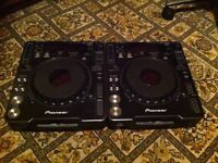 PIONEER CDJ-1000 DJ Decks X2 (PAIR)