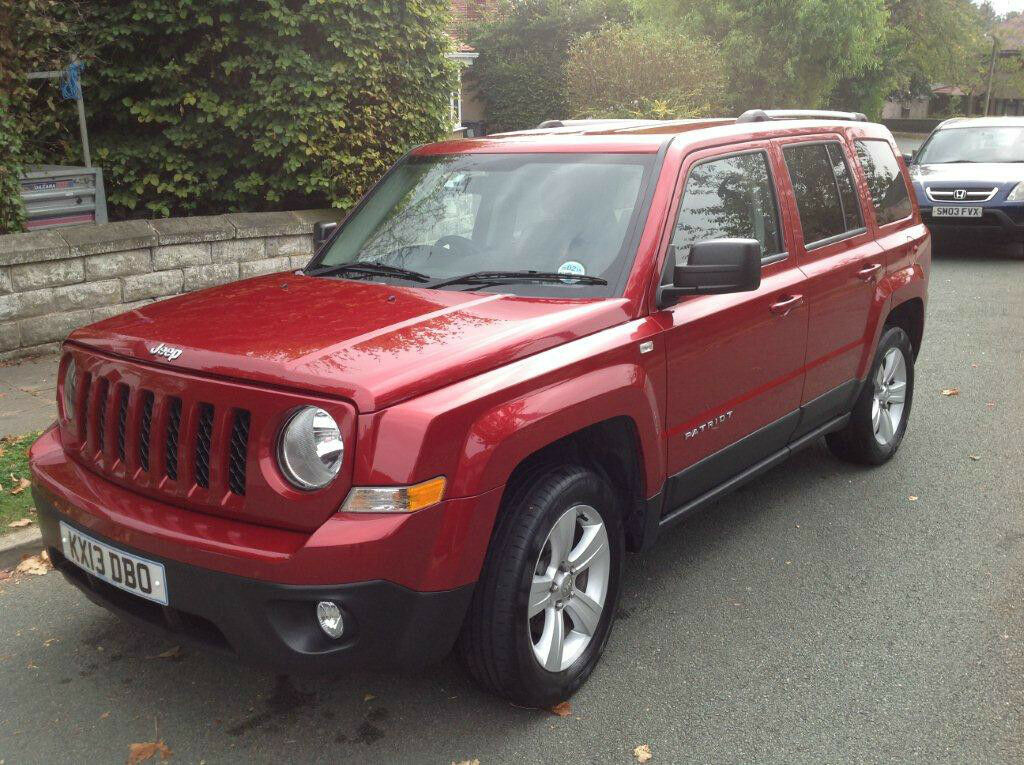 2013 jeep patriot 2 2 crd limited further reduced in. Black Bedroom Furniture Sets. Home Design Ideas