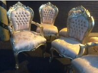 Lovely French style gold chair