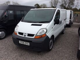 Renault traffic 19 Diesel swb 12 month mot no vat