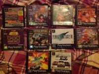 PlayStation one PS1 games