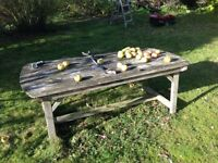 FREE wooden garden table
