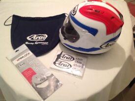 Aria rx7 gp crash helmet