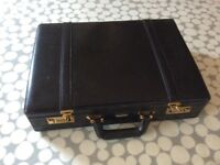 Black brief case
