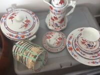 Hand Painted Tea and Dinner Set
