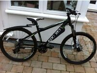 Carrera Vulcan 16'' frame mountain bike