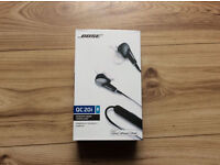 BOSE QC20i Headphones - grey earphones New