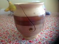 Hand crafted wooden yarn bowl. Beautiful neat finish and made with much love