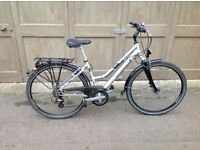 Ladies hybrid bicycle in good condition, small frame.