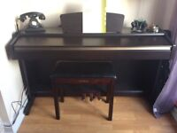 Yamaha Clavinova CLP-115 piano Graded Hammer with free stool