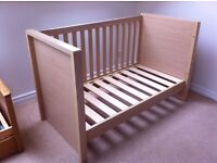 Kub Madera Cot Bed. Lovely used condition.