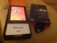 "BARGAIN!!! Boxed Amazon Kindle Fire 7"" HD 8GB"