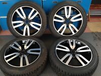 Brand new Land Rover Discovery 4 wheels and tyres