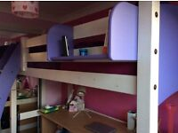 70% off new price, High Sleeper Bed, Scallywags by Cresta