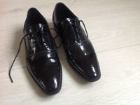Mens black shoes. Versace collection. Size 7