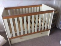 Classic Two-Tone 4 Piece Nursery Furniture Set
