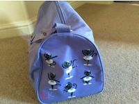 Girls Katz Dance shoe/kit bag