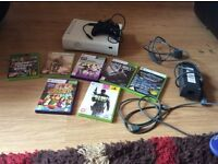 Xbox 360 and kinect +7games