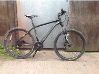 Merida Mens hardtail 27.5 mountain bike