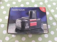 Free to anyone how wants a Park side drill battery in box.