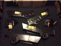 """Mgb gt rear mount sections """"original """" brand new"""