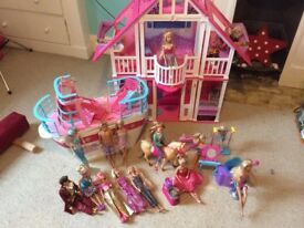 Barbie house bundle