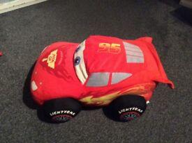 Cars lightening McQueen pillow