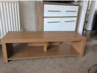 Oak look TV cabinet