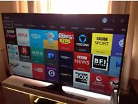"SAMSUNG 55"" UE55JU6000 Smart 4K ULTRA HD TV,built in Wifi,Freeview HD,NETFLIX,Excellent condition"
