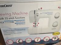 Silvercrest Sewing Machine (as new)