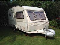 Fleetwood Colchester 1300 - 2 Touring Caravan. Good first time van