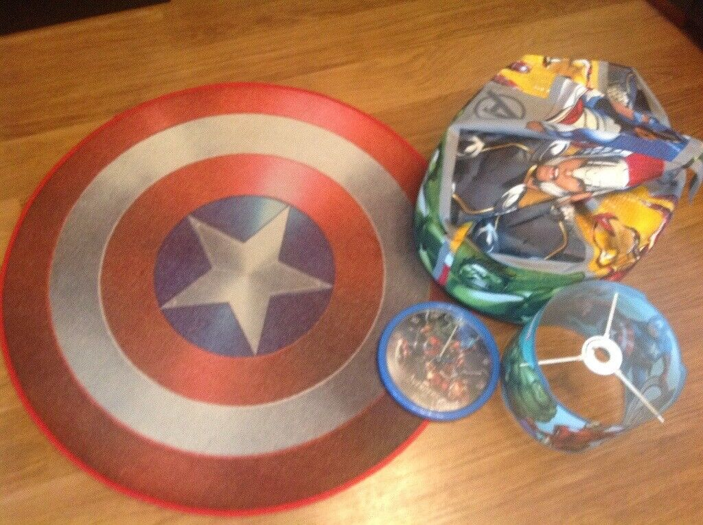 Pleasant Marvel Avengers Bedroom Accessories 4 Items In Total In Blackley Manchester Gumtree Gmtry Best Dining Table And Chair Ideas Images Gmtryco