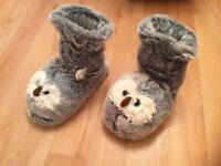 Fluffy Owl Boots (Brand New)