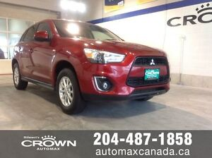 2015 Mitsubishi RVR *HTD Seats*AWD*Alloys* Only $139 B/W