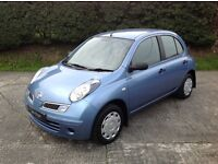 2009 NISSAN MICRA 1.2 VISIA 5 DOOR with 38000 miles