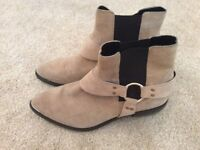 River Island Suade Ankle Boots