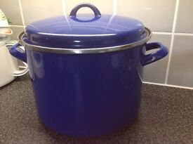 Large stock pot by judge 24cm two Handel pan