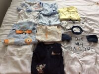 Baby boy clothes from birth till 6 months