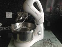 Breville food mixer with attatchments