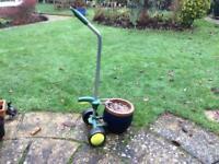 Mobile flower pot mover