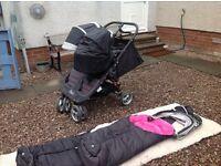 Baby jogger city mini twin buggy