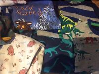 Boys clothes 3-4 next gap other and x6 pjs snuffle fit