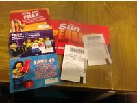 2xLegoland ticket for sales 5-09-2016