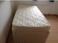 Single converts to double bed