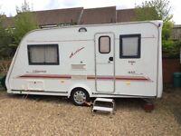 2002 Elddiss Odyssey 2 berth caravan with awning £2995.00 o.n.o