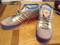 Adidas hightop trainers